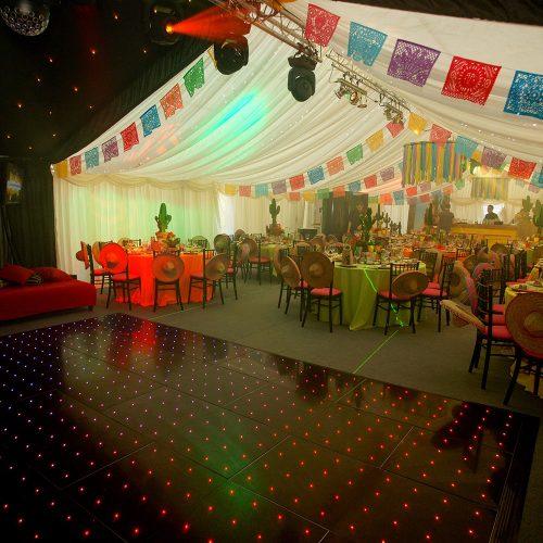 led dance floor hire yorkshire